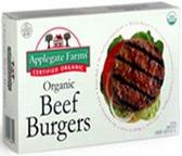 Applegate Organics - Organic Beef Burgers -16oz