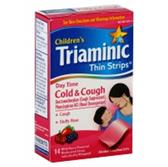 Triaminic Wild Berry Children Daytime Cough Cold Thin Strips-14c