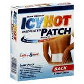 Extra Strength Icy Hot Back Patch - 5 Count