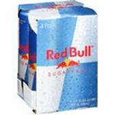 Red Bull Sugar Free - 4 pk