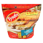 Tyson Frozen Chicken Breast Fillets Breaded -25 oz