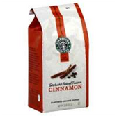 Starbucks All Natural Cinnamon Coffee -12 oz