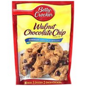 Betty Crocker Walnut Chocolate Chip Cookie Mix -17.5 oz