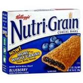 Kellogg's Blueberry Nutri-Grain -6 pk