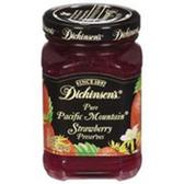 Dickinson's Strawberry Preserves -10 oz