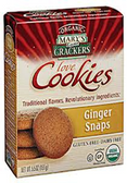 Mary Gone Crackers Love Cookies - Gingersnaps -6.5oz