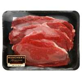 Beef Chuck Cross Rib Steak Boneless Thin -2 LB