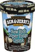 Ben & Jerry's - New York Super Fudge Chunk -16oz