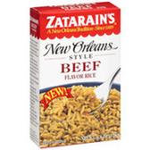 Zatarain's New Orleans Style Beef Flavor Rice -6.8 oz