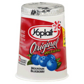 Yoplait Blueberry -6oz