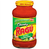 Ragu Chunky Garden Combination Sauce - 48 oz