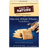 Back to Nature Harvest Whole Wheats Crackers -8.5 oz