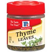 McCormick Gourmet Thyme Leaves -0.62 oz
