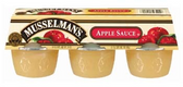 Musselman's Regular Apple Sauce -6 pk