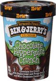 Ben & Jerry's - Chocolate Peppermint Crunch -16oz