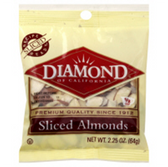 Diamond Sliced Almonds - 2.25 oz