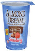 Almond Dream Yogurt - Strawberry -6oz