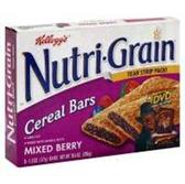 Kellogg's Mixed Berry Nutri-Grain -6 pk