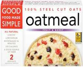 Good Food Made Simple Fruit and Berry Oatmeal  -16oz