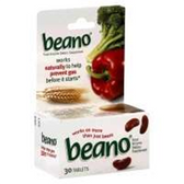 Beano Digestive Aid Tablets - 30 Count