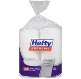 "Hefty Supreme Plates 6""-320ct"