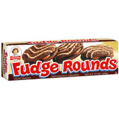 Little Debbie Fudge Rounds -12 ct