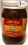 Lone Star Pure Comb Honey -24oz