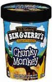 Ben & Jerry's - Chunky Monkey -16oz