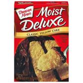 Duncan Hines Moist Deluxe Classic Yellow Cake Mix-18.25 oz