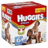 Huggies Snug N Dry Diapers Size 6 - 100 pk