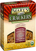 Mary Gone Crackers - Onion Crackers -6.5oz