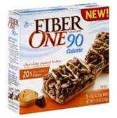 Fiber One Chocolate Peanut Butter 90 Calorie Granola Bar-5 pk