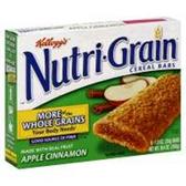 Kellogg's Apple Cinnamon Nutri-Grain -6 pk