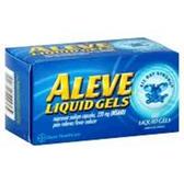 Aleve Naproxen Sodium Liquid Gels - 52 Count