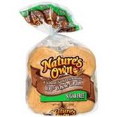 Nature's Own Hamburger Buns -8 ct