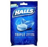 Halls Ice Blue Cough Drops - 30 Count