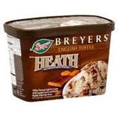 Breyers Parlor Heath Toffee Ice Cream -1.5 qt