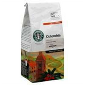 Starbucks Columbia Ground Coffee -12 oz
