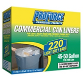 ProForce Commercial Can Liners-220ct