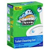 Scrubbing Bubbles Fresh Clean Toilet Gel -6 pk