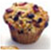 Fresh Extra - Large Blueberry Muffins - 3 Pk