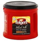 Folgers Black Silk Coffee, 27.8 oz