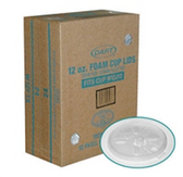 Dart  12 oz Foam Cup Lids-1000ct