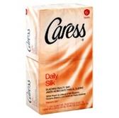 Caress Daily Silkening Bar Soap - 6-4.25 Oz