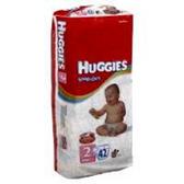 Huggies Snug N Dry Diapers Size 2 - 100 pk