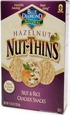 Blue Diamond Nut-Thins - Nut & Rice (Hazelnut) -4.25oz