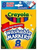 Crayola Washable Markers-6ct