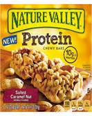 Nature Valley Protein Chewy Bar - Salted Caramel Nut -5 bars