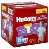 Huggies Supreme Little Movers Diapers Size 6 - 76 pk