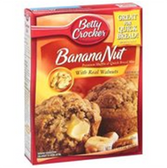 Betty Crocker Banana Nut Muffin Mix -15.3 oz